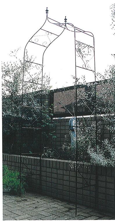 超美品 24001 ジャービス商事:ホームセンタートックリ店 ガーデンアーチA型-エクステリア・ガーデンファニチャー