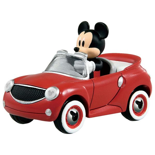 トミカ ミニカー  ミッキーマウスとロードレーサーズ トミカ MRR-07 ホット・カブリオ ミッキーマウス | おすすめ 誕生日プレゼント ギフト おもちゃ