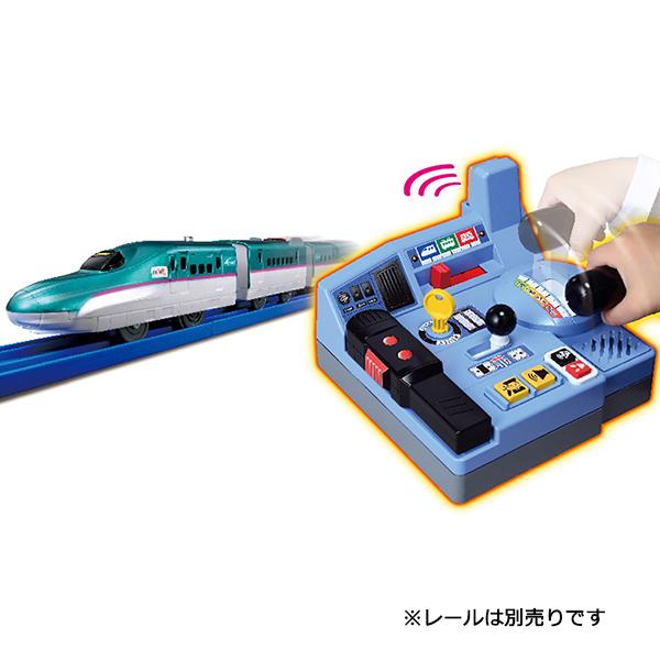 プラレール 乗車確認!出発進行!まるごと鉄道体験!E5系はやぶさコントロールセット