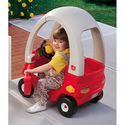 [メーカー直送品] ちびっこマイクーペ レッド [代引き不可 同梱不可 包装不可]  乗用玩具 乗り物 おもちゃ