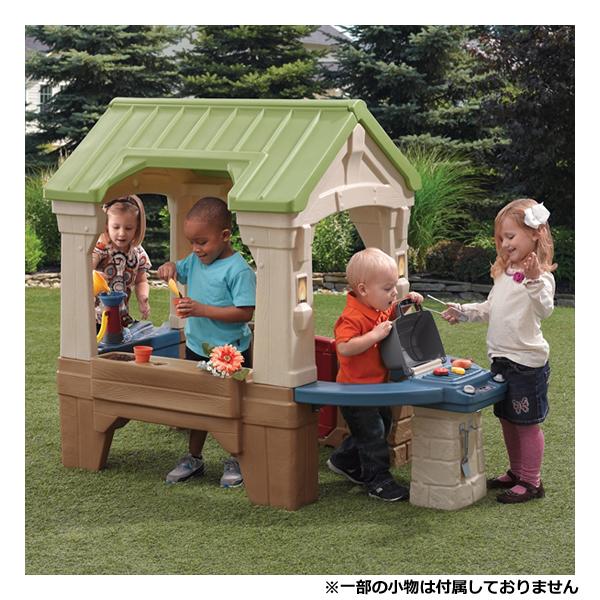 [メーカー直送品] アウトドアハウス [代引き不可 同梱不可 包装不可]   大型 子供用 ハウス 家