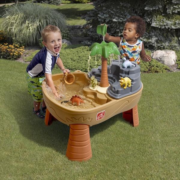 [メーカー直送品] 恐竜ウォーターテーブル [代引き不可 同梱不可 包装不可] | 大型遊具 水遊び