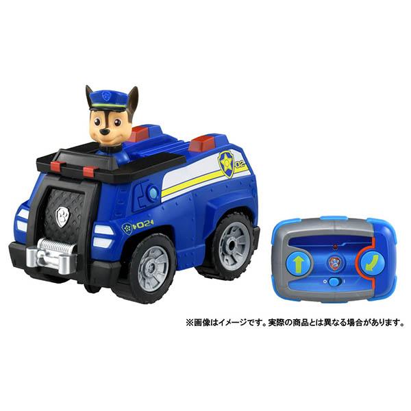 最新アイテム パウ パトロール パウっとそうじゅう RCビークル 全品最安値に挑戦 チェイス ポリスカー パウパトロール ラジコン おもちゃ