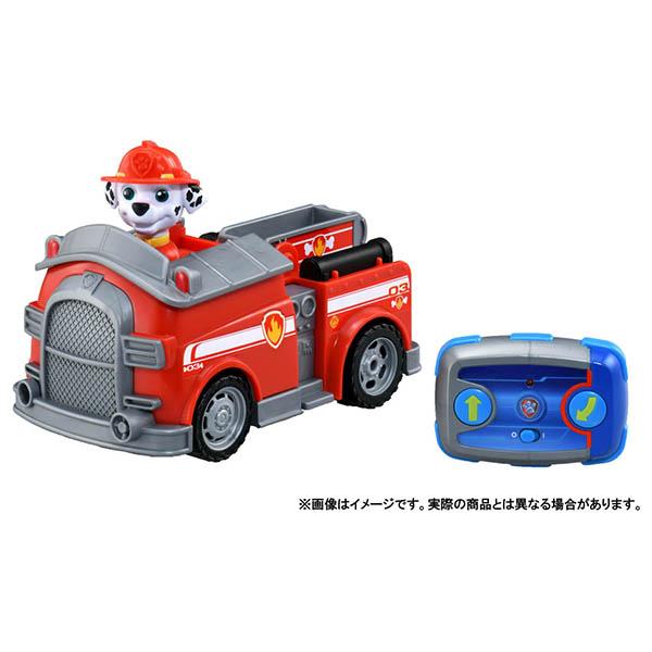 パウ パトロール パウっとそうじゅう RCビークル マーシャル ファイヤートラック パウパトロール 海外輸入 休日 ラジコン おもちゃ