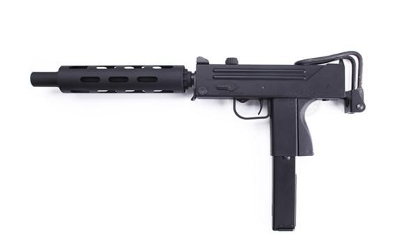 HFC イングラム M11 ガスガン サイレンサー セット BK