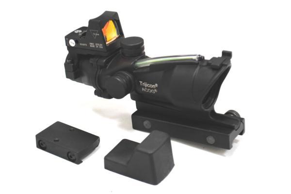 Trijiconタイプ ACOG TA31 集光式 スコープ RMR ダットサイト付