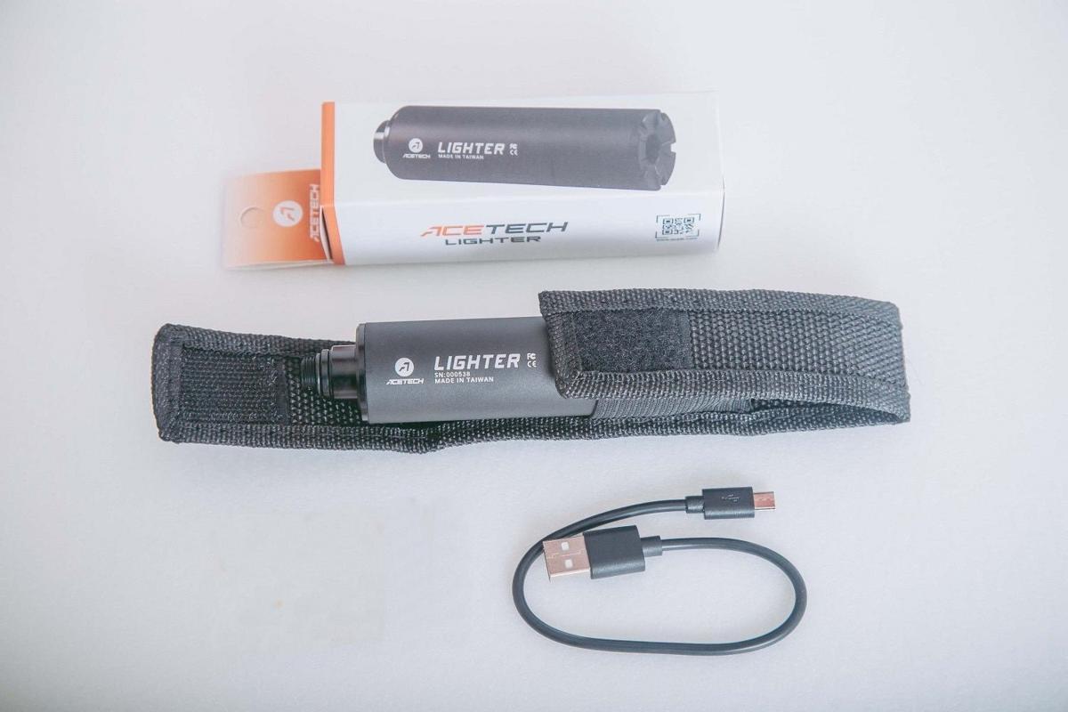 [送料無料] ACETECH LIGHTER ミニトレーサー ユニット 日本語説明書付き ポーチ付き 120日保証付き