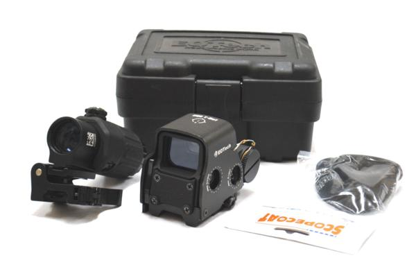 EoTech G33-STS タイプ 3倍ブースター XPS3ホロサイトセット BK
