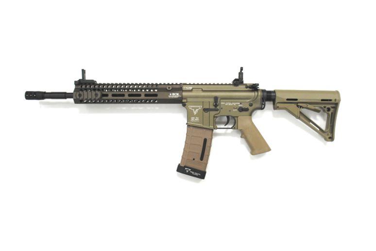 DOUBLE BELL TTIタイプ AR-15 スタンダード TTI TR-1刻印 メタル電動ガン タンカラー M4 M16 No.081S