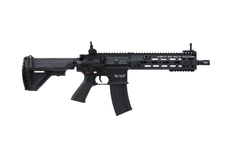 DOUBLE BELL HK416 GEISSELEタイプ 10.5inch SMRハンドガード メタル電動ガン ブラック M4 M16 No.811