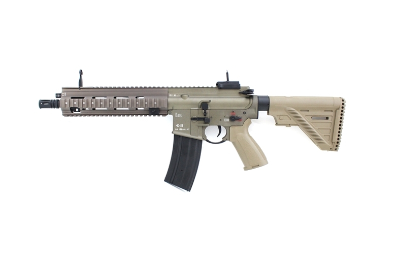 DOUBLE BELL HK416A5 ショート リアル刻印 メタル電動ガン タン No.817S