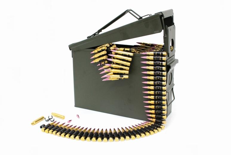 SFBC M249 5.56mm NATO ダミーカート 100連装 & M19A1タイプ アモカン セット