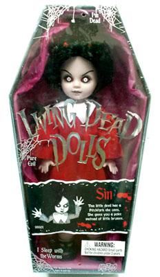 【BACK ORDER 6】リビングデッドドールズ(Living Dead Dolls) シリーズ1 シン(SIN)