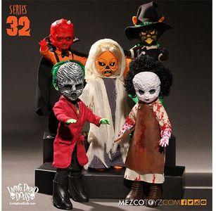 【まもなく入荷 1610】リビングデッドドールズ シリーズ32/5体セット (Living Dead Dolls)Series 32/SET OF 5