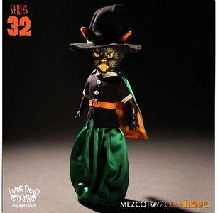 【まもなく再入荷 1903】リビングデッドドールズ シリーズ32/Salem(Black Cat Witch )/Living Dead DollsSeries 32
