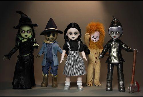 【まもなく再入荷 1512】リビングデッドドールズ オズの魔法使い/5体セット Living Dead Dolls in OZ/SET OF 5