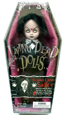 【まもなく再入荷 1806】リビングデッドドールズ(Living Dead Dolls)シリーズ2 School Time Sadie(スクールタイム・サディ)