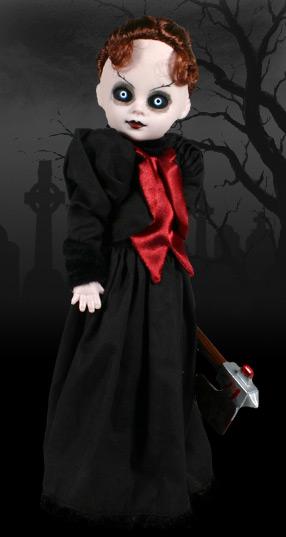 【BACK ORDER 6】リビングデッドドールズ(Living Dead Dolls)シリーズ2 LIZZIE BORDEN(リジー・ボーデン)/LDD