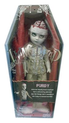 【まもなく入荷 2003】【送料無料】リビングデッドドールズ(Living Dead Dolls)シリーズ9 PURDY【05P29Apr15】