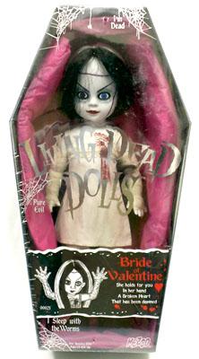 【まもなく再入荷 1603】リビングデッドドールズ(Living Dead Dolls) シリーズ3BRIDE OF VALENTINE(バレンタイン)【532P26Feb16】