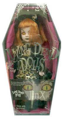 【まもなく再入荷 1805】リビングデッドドールズ(Living Dead Dolls) シリーズ6 JINX/ジンクス