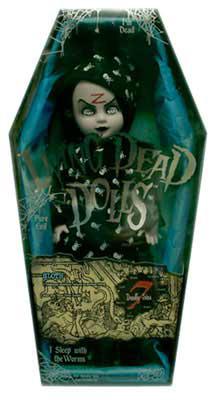 【まもなく再入荷 1707】リビングデッドドールズ(Living Dead Dolls)シリーズ7 SLOTH BED TIME SADIE(ベッドタイム・サディ)