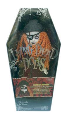 【まもなく再入荷 1806】リビングデッドドールズ(Living Dead Dolls) HOT TOPIC限定CAPTAIN BONNEY/キャプテン・ボニー
