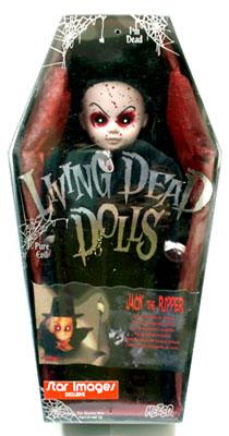 【まもなく入荷 1805】リビングデッドドールズ(Living Dead Dolls) STAR IMAGES限定JACK THE RIPPER/切り裂きジャック