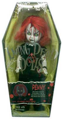 【まもなく再入荷 1512】リビングデッドドールズ(Living Dead Dolls) クラブメズコ限定PENNY/ペニー【05P20Nov15】