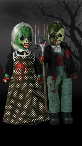 【まもなく再入荷 1805】リビングデッドドールズ(Living Dead Dolls) スペンサーギフト限定/アメリカン・ゴシック