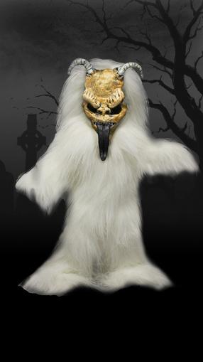 【まもなく再入荷 1505】リビングデッドドールズ(Living Dead Dolls)ドイツ限定 KRAMPUS ホワイトver/クランプス