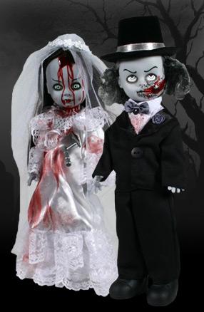 【まもなく再入荷 1504】リビングデッドドールズ(Living Dead Dolls) USタワーレコード限定/DIED & DOOM