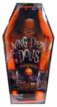 【まもなく再入荷 1805】リビングデッドドールズ(Living Dead Dolls)シリーズ16 PUMPKIN(パンプキン)