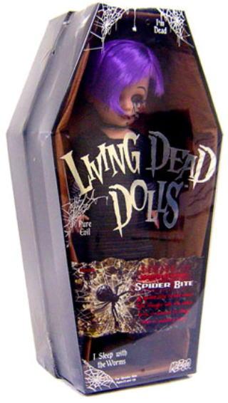【まもなく再入荷 1806】リビングデッドドールズ(Living Dead Dolls)シリーズ17 SPIDER BITE(スパイダー)【05P03Dec16】