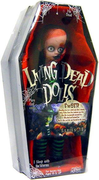 【まもなく再入荷 1506】リビングデッドドールズ(Living Dead Dolls)シリーズ18 Ember(エンバー)【05P30May15】