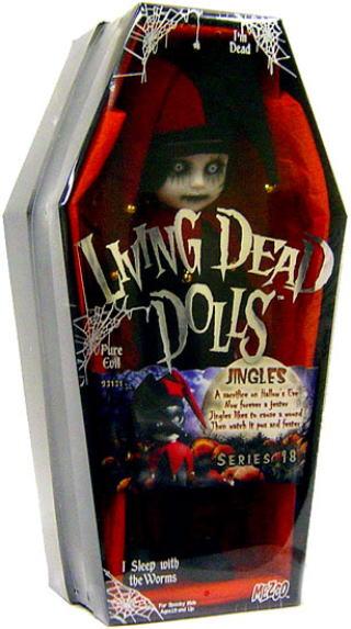 【まもなく再入荷 1805】リビングデッドドールズ(Living Dead Dolls)シリーズ18 Jingles(ジングルズ)【05P30Nov14】