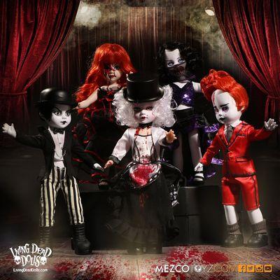 【送料無料】リビングデッドドールズ シリーズ33 Moulin Morgue/(Living Dead Dolls)Series 33/SET OF 5