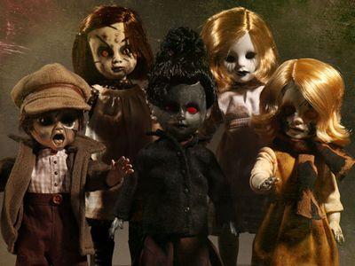【まもなく再入荷 1903】リビングデッドドールズ シリーズ34 Wassen Hole/(Living Dead Dolls)Series 34/SET OF 5