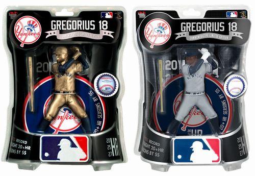 【まもなく再入荷 1902】【送料無料】Imports Dragon MLB フィギュア 2019年/ディディ・グレゴリウス(ニューヨーク・ヤンキース)2体セット Limited Edition