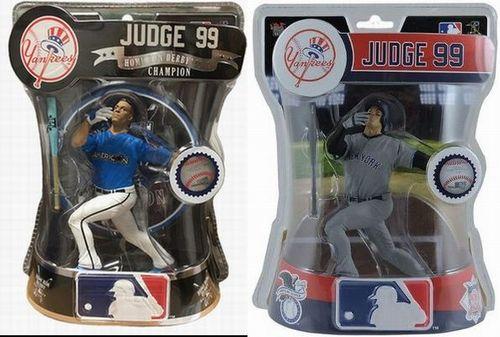 【新商品 まもなく入荷 1801】Imports Dragon MLB フィギュア 2017年 アーロン・ジャッジ 2体セット/アーロン・ジャッジ(ニューヨーク・ヤンキース)