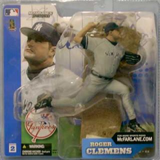【まもなく再入荷 1711】マクファーレントイズ MLB フィギュア シリーズ2/ロジャー・クレメンス/ニューヨーク・ヤンキース【532P19Apr16】