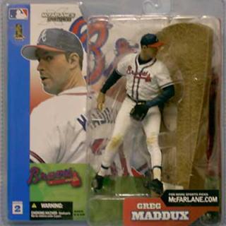 【まもなく再入荷 1801】マクファーレントイズ MLB フィギュア シリーズ2/グレッグ・マダックス/アトランタ・ブレーブス