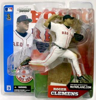 【まもなく再入荷 6】マクファーレントイズ MLB フィギュアシリーズ3/ロジャー・クレメンス/レッドソックス chase
