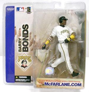 【まもなく入荷 1805】マクファーレントイズ MLB フィギュア シリーズ4/バリー・ボンズ/ピッツバーグ・パイレーツ chase
