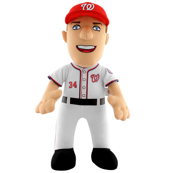 【まもなく入荷 1604】MLB ブライス・ハーパー 10インチ ぬいぐるみ/ワシントン・ナショナルズ/Bleacher Creatures