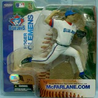 【まもなく再入荷 1806】マクファーレントイズ MLB フィギュア シリーズ6 /ロジャー・クレメンス chase/トロント・ブルージェイズ