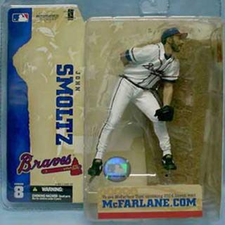 【まもなく再入荷 1805】マクファーレントイズ MLB フィギュア シリーズ8/ジョン・スモルツ/アトランタ・ブレーブス