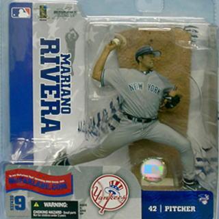 【まもなく再入荷 1509】マクファーレントイズ MLB フィギュア シリーズ9/マリアーノ・リベラ/ニューヨーク・ヤンキース