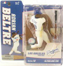 【まもなく入荷 1504】マクファーレントイズ MLB フィギュア シリーズ12/エイドリアン・ベルトレ バリアント/ロサンゼルス・ドジャース
