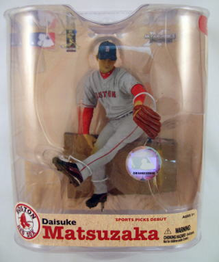マクファーレントイズ MLB フィギュアシリーズ21/松坂 大輔 variantグレー/ボストン・レッドソックス【05P03Dec16】
